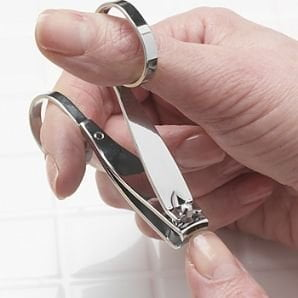 Easy Grip Finger Nail Clippers