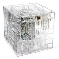 Money Maze Puzzle Gift Giving Bank