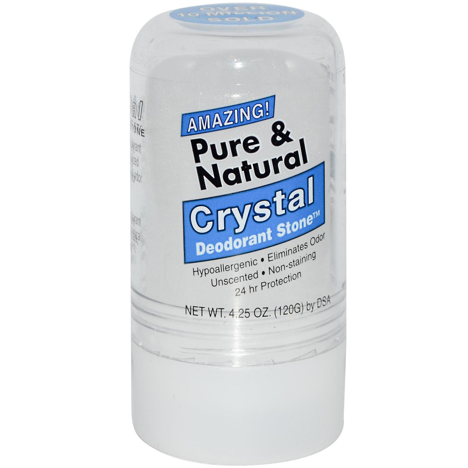 Mineral deodorant stone reviews