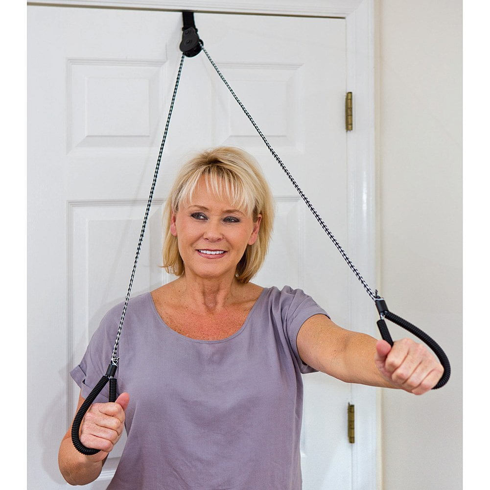 The Works Oakville >> Over The Door Pulley Exerciser