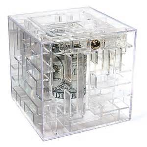 money maze gift giving puzzle