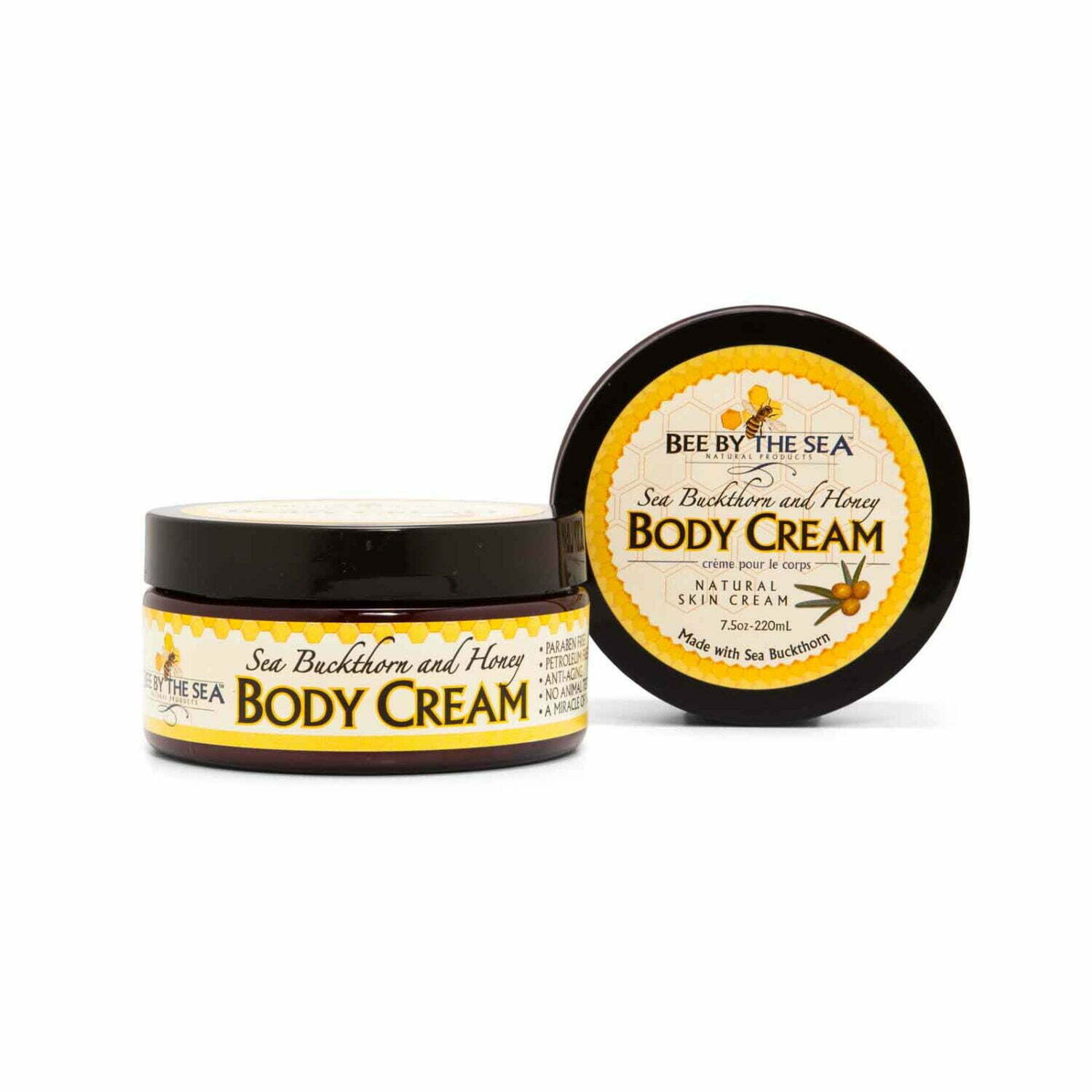 Bee By The Sea Vanilla Body Cream