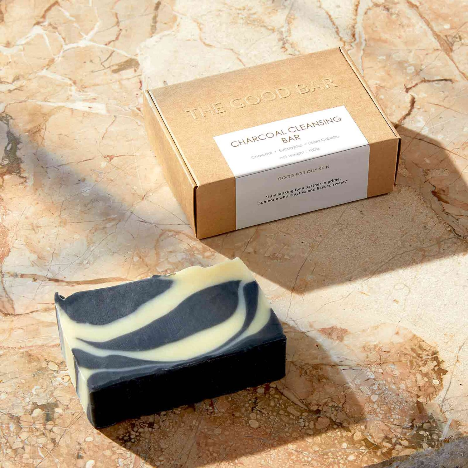 Charcoal Cleansing Bar by The Good Bar